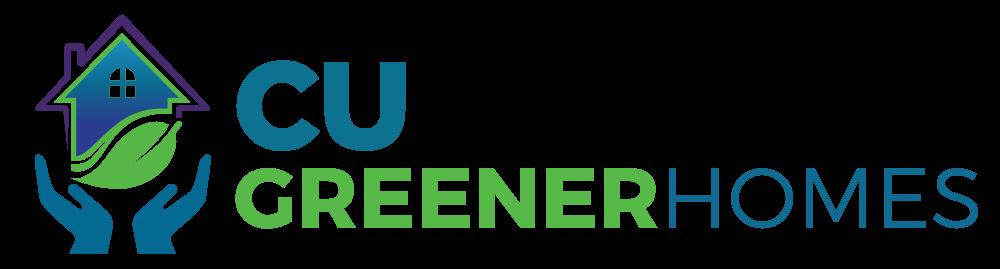 CU Greener Homes Logo